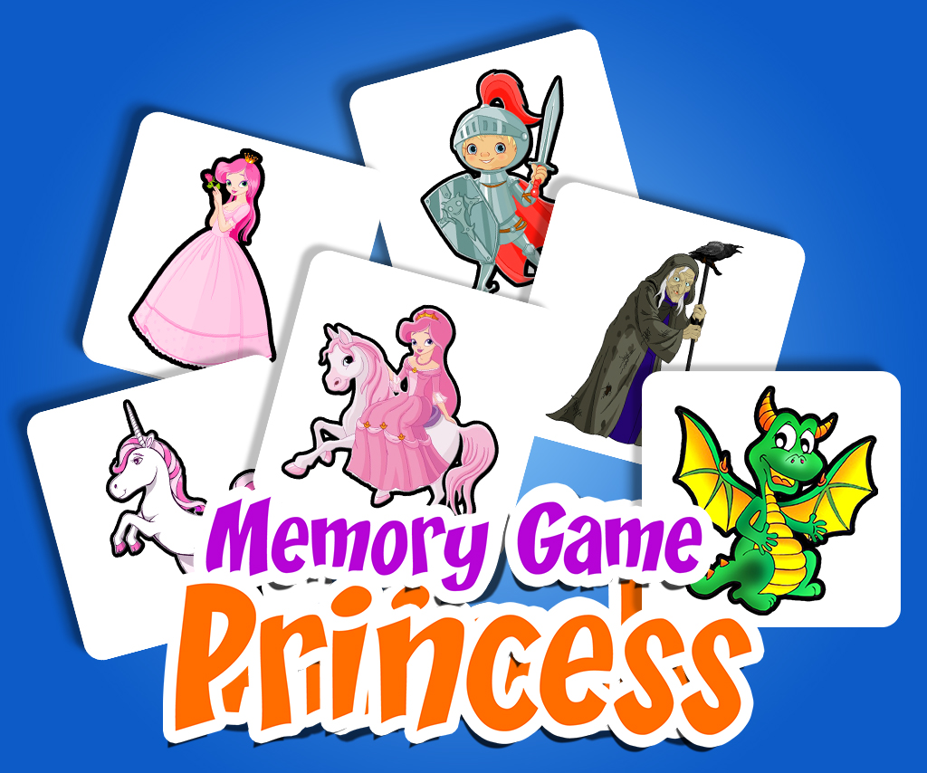Memory Game Princess
